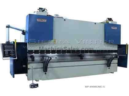 "89 Ton x 98"" BAILEIGH® 5-Axis CNC Hydraulic Press Brake"