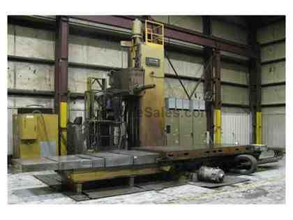 "6"" Lucas 40T 4-Axis CNC Table Type Horizontal Boring Mill"
