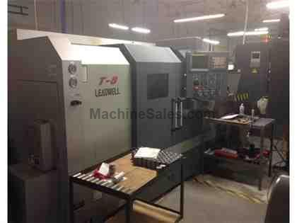 2010 LEADWELL MODEL T-8 CNC LATHE FANUC 0iT-D Control