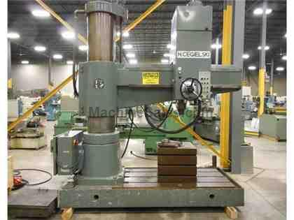 TOOLMEX (H.CEGIELSKI) MODEL WRA-632 RADIAL DRILL, 5-1/4' ARM X 17""