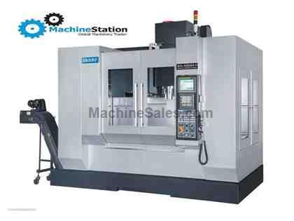 "NEW! SHARP SVL-4525SX-M 45 X 25 X 20"" LINEAR WAY VERTICAL MACHINING CE"