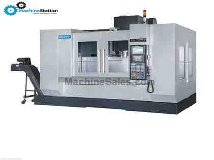 "NEW! SHARP SVL-4525SE-M 45 X 25 X 20"" LINEAR WAY VERTICAL MACHINING CE"