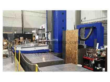 "6"" TOS VARNSDORF WHN 15 CNC TABLE TYPE HORIZONTAL BORING MILL"