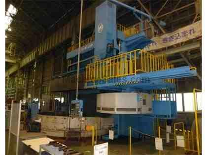 "O-M Ltd. TMD-40/45M 157""/ 177"" CNC Vertical Boring Mill with Mill"