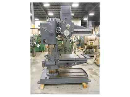 "1969 FOSDICK SENSITIVE RADIAL DRILL, 3' X 12"", GREAT CONDITION!"