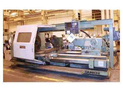 "DAINICHI M95BDx200 CNC Flat-Bed Turning Center With 9.3"" Spindle Bore"