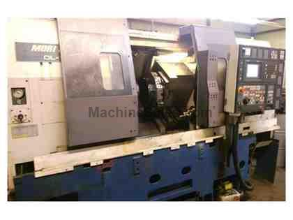 2000 MORI SEIKI DL151MC, 7-AXIS CNC TWIN SPINDLE TWIN TURRET TURNING CENTER