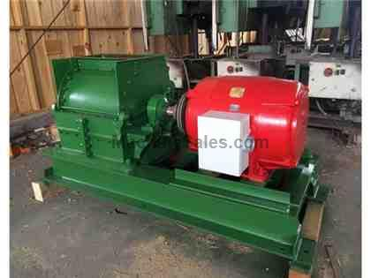 Used Jay Bee 5W hammermill with Fan