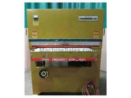 Used Powermatic Model RB 371 wide belt Sander