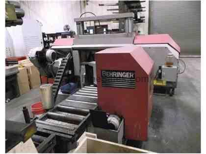 "14"" BEHRINGER HPB 360A AUTOMATIC, DUAL-COLUMN, HORIZONTAL BAND SAW"