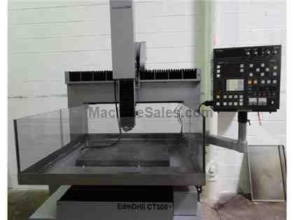 Current CT-500A CNC EDM Hole Driller, Refurbished