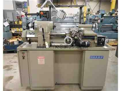 "1998 SHARP MODEL 1118H PRECISION TOOLROOM LATHE, 11"" X 18"""