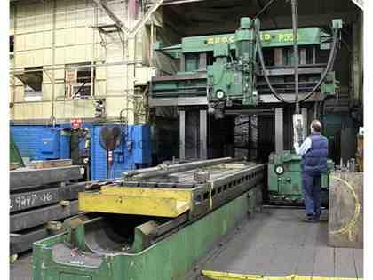 ROCKFORD PLANNER TYPE MILLING MACHINE