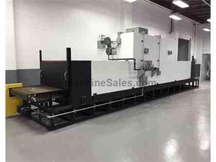 NEW 500 F GAS FIRED BELT OVEN 4'W 23'L 2'H