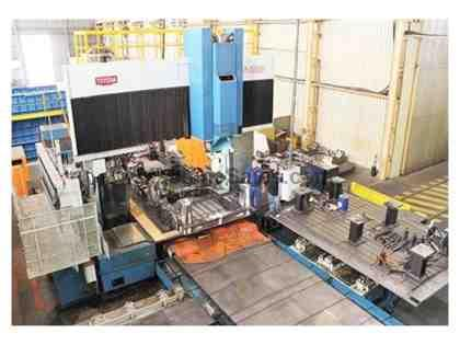 Toyoda BN 25A 5-Face CNC Bridge Mill