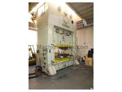 "Clearing 800-Ton SSDC Press, 108"" Bed, 16"" Stroke"