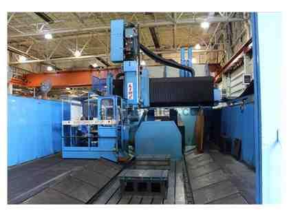 HENRI LINE GICAMILL 25LS/5 DOUBLE COLUMN MACHINING CENTER
