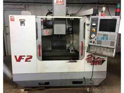 2001 HAAS MODEL VF-2B VERTICAL MACHINING CENTER