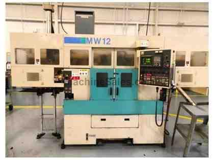 "1997 Muratec ""Murata"" MW12-G CNC Twin Spindle Turning Center w/Ga"