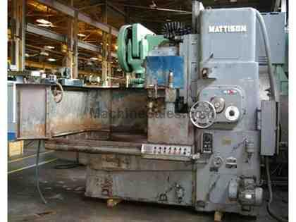 "42"" Mattison Model 24-42 Rotary Surface Grinder Quick Tilt Spindle"