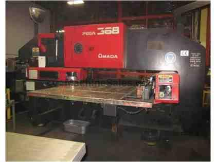 AMADA, PEGA 368, CNC TURRET PUNCH NEW: 1998