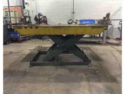 SOUTHWORTH LS8-36W HYDRAULIC LIFT TABLE