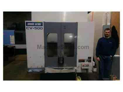 1998 Mori Seiki CV-500A CNC Vertical Machining Center