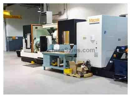 "MAZAK STN-500M, 2012, LIVE MILLING, 120"" CENTERS, 40"" SWING, 7"" BORE, LOW HOURS!"