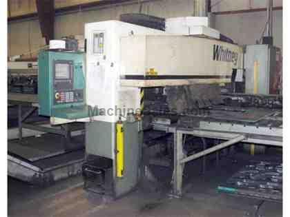 Whitney 40 Ton CNC Punch/Plasma Fabricating Center