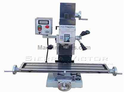 "7"" x 26"" NU METAL® Mill Drill Machine"