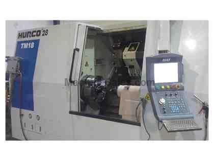 2012 Hurco TM-18 Heavy Duty CNC Turning Center