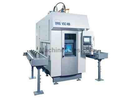 MODEL VSC 400DS EMAG CNC VERTICAL TURNING AND GRINDING CENTER, 2007