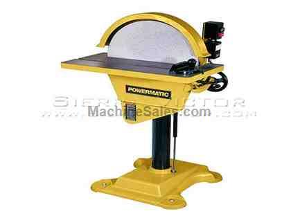 "20"" POWERMATIC® DS20 Disc Sander (3PH)"