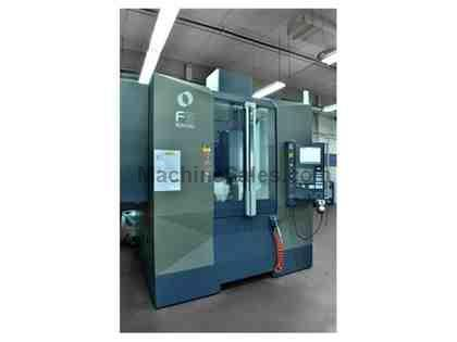 Makino F5 Vertical Machining Center (2012) Robot Interface Table: 39.4&quot