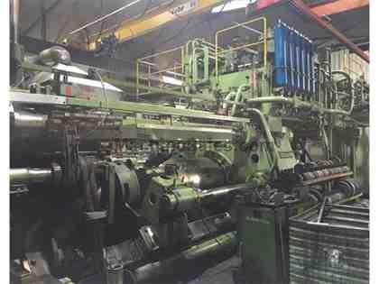 "2500 Ton, SCHLOEMANN, 1970, EXT PRESS, 11"" (279mm) x 33"" (850mm)"