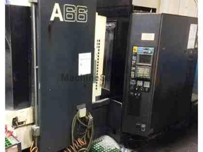 2004 Makino A-66 CNC Horizontal Machining Centers (2) Under Power!