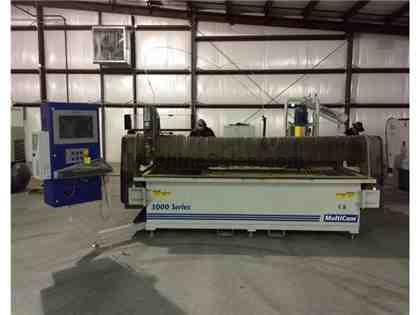 MultiCam 3000 Series CNC Waterjet (2011)