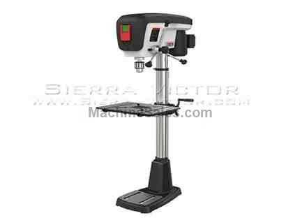 "15"" JET® JDP-15F Floorstanding Drill Press"