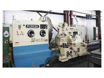 "Poreba TCG-200x14M 78"" x 551"" Heavy Duty Manual Lathe"