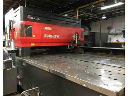 4.0 KW 2008 Amada Pulsar 2415NT Includes Automation