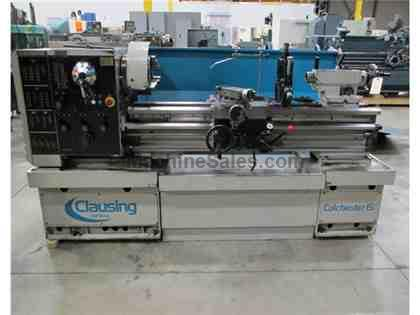 "2004 Clausing 8043S Gap Bed Geared HEad Engine Latthe, 15"" x 50"""