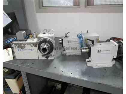 2013 HARDINGE MODEL H-5CL-1 5C PNUEMATIC COLLET INDEXER WITH TAILSTOCKS