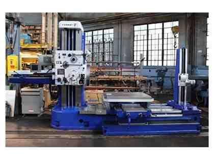 "4"" TOS TABLE TOP HORIZONTAL BORING MILL W-100A COMPLETLEY REMANUFACTUR"