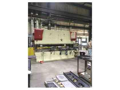 250 TON X 12', ACCURPRESS,ADVANTAGE 725012, ETS3000 2-AXIS,MFG:2006