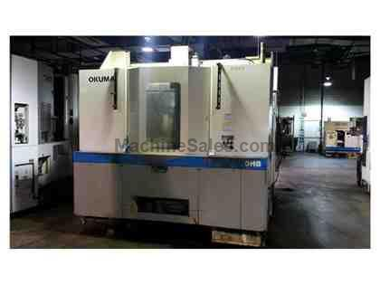 2003 Okuma MA-600HB CNC Horizontal Machining Center