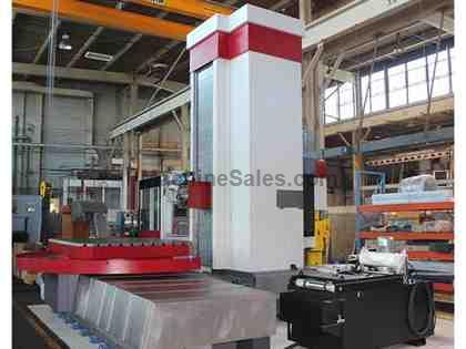 "5.12"" Lucas 5 CNC Table Type Horizontal Boring Mill"