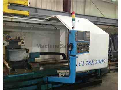 2008 Acra CL78 CNC Flat Bed Turning Center