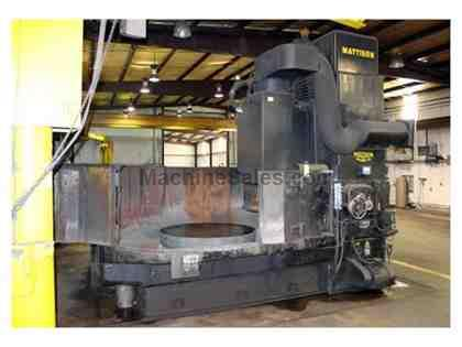 "60"" MATTISON Model 60 Rotary Surface Grinder"