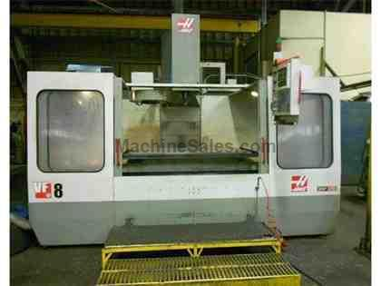 HAAS, VF-8, CNC VERTICAL MACHINING CENTER NEW: 1996