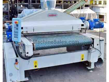 "55"" Sorbini VS/26-2D Panel Denibbling/Brushing Machine"
